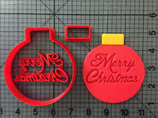 Christmas Ornament Cookie Cutter Set