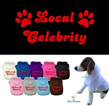 Dog Clothes LOCAL CELEBRITY Coat Hoodie Sweater Jacket for Dog Dogs Puppy
