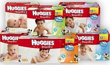 Huggies Snug & Dry Plus Diapers Size 1 2 3 4 5 6 PICK ANY SIZE