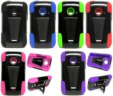 T-Stand Hybrid Cover Case for ZTE Zinger / Prelude / Whirl 2