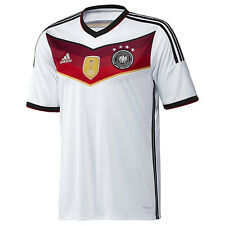 ADIDAS GERMANY 4 STAR HOME JERSEY FIFA WORLD CUP 2014 CHAMPIONS.
