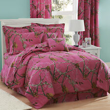Girls Realtree® AP Fuchsia Camo Comforter Set & Sheets~4 Sizes Bed in a Bag