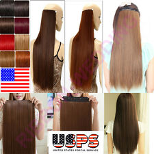 """BEST Selling 16"""" 18"""" 20"""" 22"""" Clip In Remy Human Hair Extensions One Piece F214"""