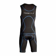 More Mile Sonic Mens Padded Tri Suit Tritard Triathlon Duathlon Run Cycle Swim