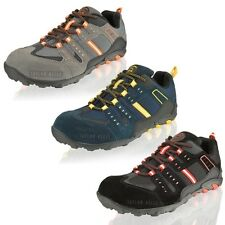 Men Groundwork Lightweight Safety Steel Toe Cap Work Trainers Shoes Size 7-11