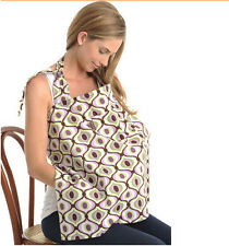 Udder Cover Baby Infant Breastfeeding Nursing Cover Cotton Cloth Towel No Buckle