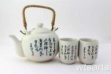 Tang Chinese Tea Pot and 2 Tea Cup Set Infuser (mix styles) Teapot Japanese