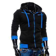 XMAS SUPER SALE Men Winter Hoodies Hooded Coat Baseball Jackets Sweatshirts Tops