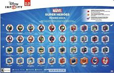 DISNEY INFINITY 2.0 MARVEL POWER DISC YOU CHOOSE TO COMPLETE YOUR SET