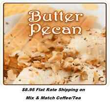 Butter Pecan Flavored Gourmet Coffee - Freshly Roasted -   1/2 lb - 5 lbs