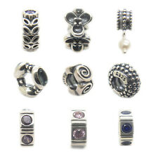 Beyond Spacer Series Sterling silver bead for European charms bracelets New