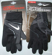 Mens Nike Lightweight Field Player's Gloves Football Sport  S ,M , or  L,  BNWT