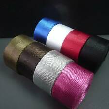 "25mm (1"") Nylon strap Webbing Strapping Herringbone Tape Choice of colours"