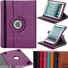 """Universal PU Leather 360 Stand Case Cover For 10.1"""" 9.7 Inch Tab Android Tablet"""
