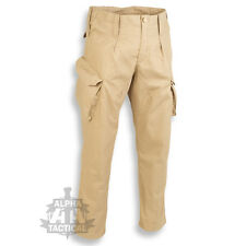 BRITISH ARMY PCS STYLE RIPSTOP TROUSERS COMBAT ISSUE CAMO AIRSOFT COYOTE BROWN