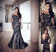 2014 Black Prom Gown Evening/Formal/Party/Cocktail/Prom Dress