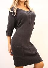 MARCIANO GUESS Camelia Cable Knit Sweater Dress NWT