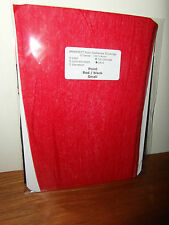 ELEGANTI PARIS POINT HEEL RED & MINT FULL CONTRAST STOCKINGS LIMITED IMPERFECTS