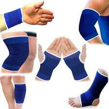 2 x Elastic Support Brace Knee Palm Wrist Calf Thigh Ankle Elbow Sports Bandage