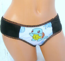 Pokemon geek thong Panties Lingerie your size your fav Pokemon pikachu squirtle