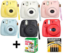 NEW Fuji instax mini 8 Fujifilm instant Film Camera +Battery +20 Film All Colors