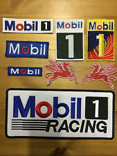 Mobil Racing Pegasus F1 F3 GP Kart Rally Racing Overall Suit Sponsor Badge Patch