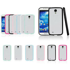 Bumper Transparent Soft Back Case Cover For Samsung Galaxy S4 SIV I9500 I9505 4G