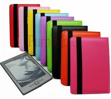 For Amazon Kindle 4 4th Generation PU Leather Case Cover Pouch Wallet