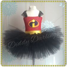 The Incredibles Tutu Dress Party Fancy Dress Christmas Violet Incredibles Tutu