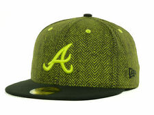 New Era 59Fifty Atlanta Braves MLB Sub Out Fitted Cap Hat $37