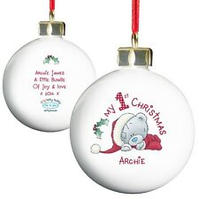 LOTS OF Personalised 'Baby's First Christmas' 1st Xmas-Keepsake Gift/Presents