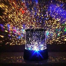 Colorful Stars Cosmos Style Projector Night Light Xmas Valentine's Day Decor New