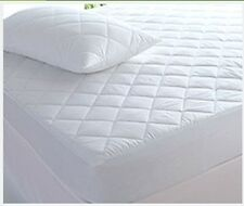 NEW LUXURY EXTRA DEEP QUILTED MATTRESS PROTECTOR FITTED SHEET BED COVER ALL SIZE