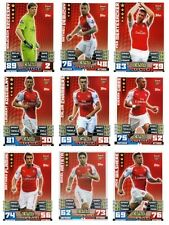 Match Attax 2014/15 Trading Cards (Arsenal-Base) 2-18