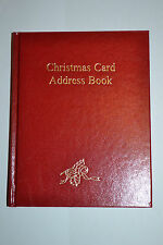 Dataday Christmas Card Address Book/ Record Book. Keeps track of sent/rec cards!