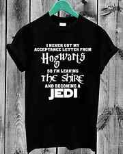Hogwarts Lord of the Rings JEDI Star wars The Hobbit Harry Potter LOTR T shirt