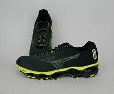 Mizuno Men Wave Prophecy 4 Charcoal, Yellow J1GC150010 SALE Running