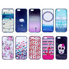 For Various Phone 2 in 1 Pretty New Painted TPU+PC Bumper Case Glossy Back Cover