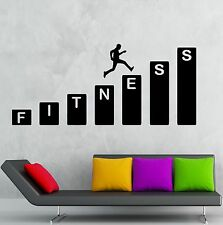Gym Wall Decal Fitness Health Sports Vinyl Stickers Art Mural (ig2515)