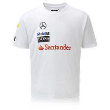 Team McLaren Mercedes Men's Team Sponsor T-Shirt