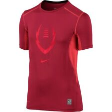 Nike Boys Dri Fit Pro Combat Hypercool Fitted Shirt Save 35%   Football Soccer