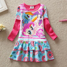 New Girls My Little Pony Top Dress Skirt - 3-8 Yrs- UK SELLER