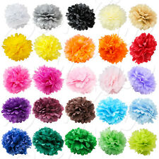 "Paper Tissue Pom Poms 8"" 10"" 12"" 14"" 16"" Flower Wedding Festival Party Pompom"