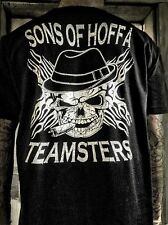 """Teamsters Sons of Hoffa Biker T shirt Union Supporters Brotherhood """"Mobster"""""""