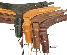 NEW Western .45 Caliber Single Right Handed Leather Gun Holster-hunting trail