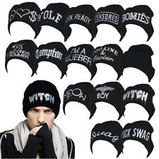 Unisex Hip-hop Beanie Hats Women's Men's Warm Hat Winter Knit Fashion cap