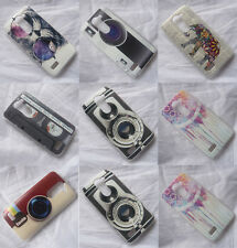 Modern Camera Cool Style Great Pattern Hard Case Cover For LG L Bello D331 D335