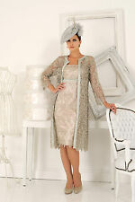 DRESS CODE BY VEROMIA DC0721 LACE DRESS & COAT MOTHER OF BRIDE OUTFIT RRP £679