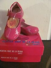 Agatha Ruiz De La Prada Kids Girls Toddler Pink Shoes New in Box