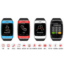 "1.54"" Touch Screen Bluetooth Smart Wrist Watch Phone Mate For iPhone Android New"